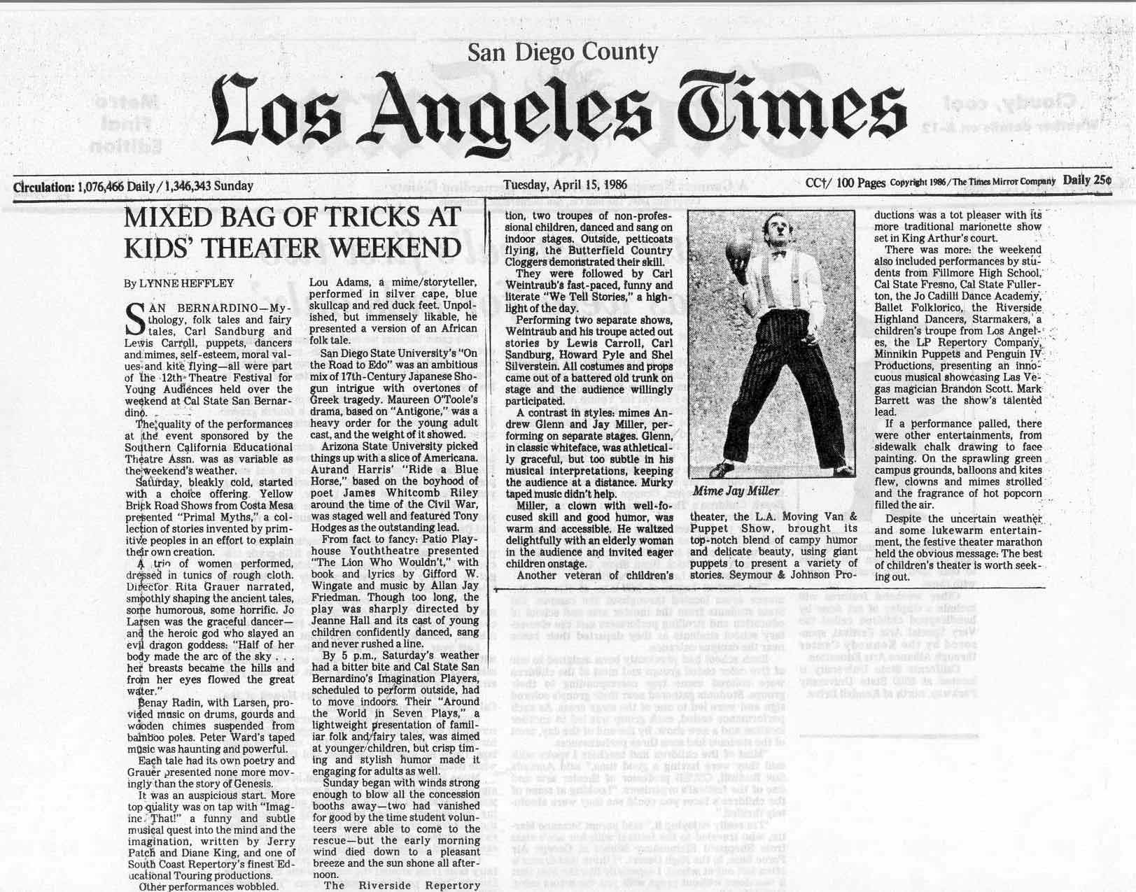 La times dating article